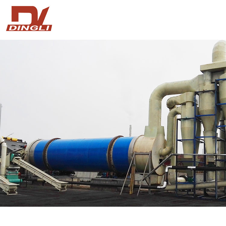 Wood Chips Rotary Drying Production Line