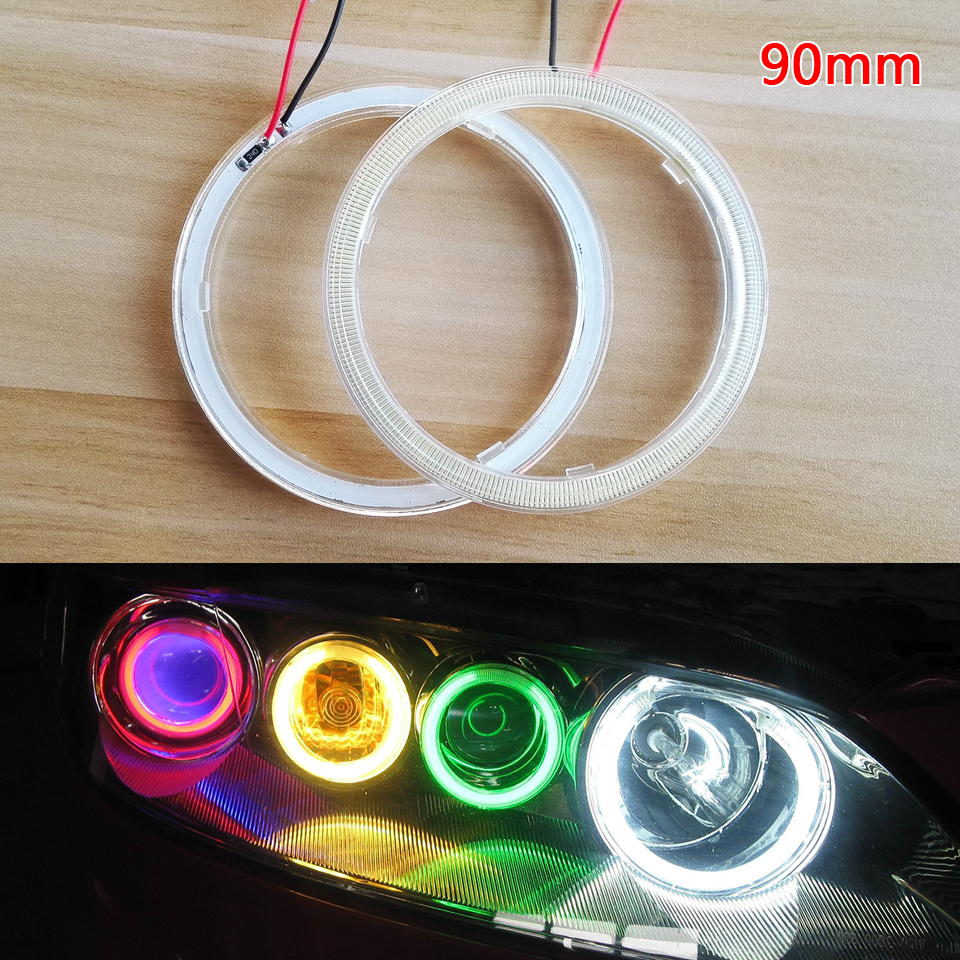 90mm Wholesale Halo Rings LED Angel Eyes DRL