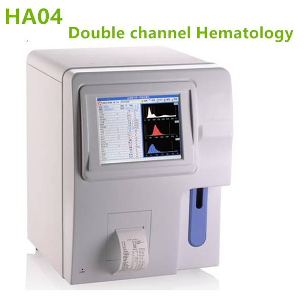 3 Part Double Channel Fully Automatic Hematology Analyzer-HA04