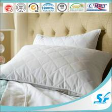 Pillow factory quilted microfiber pillow/polyester pillow