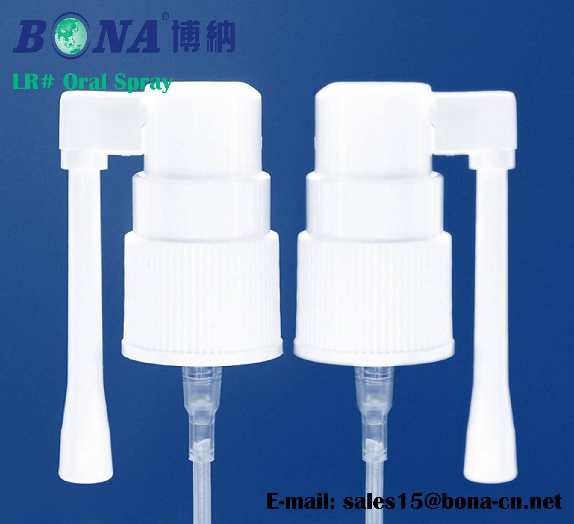 Long Oral Spray 18mm screw on Pump