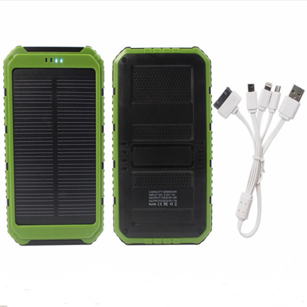 8000mAh solar mobile power supply