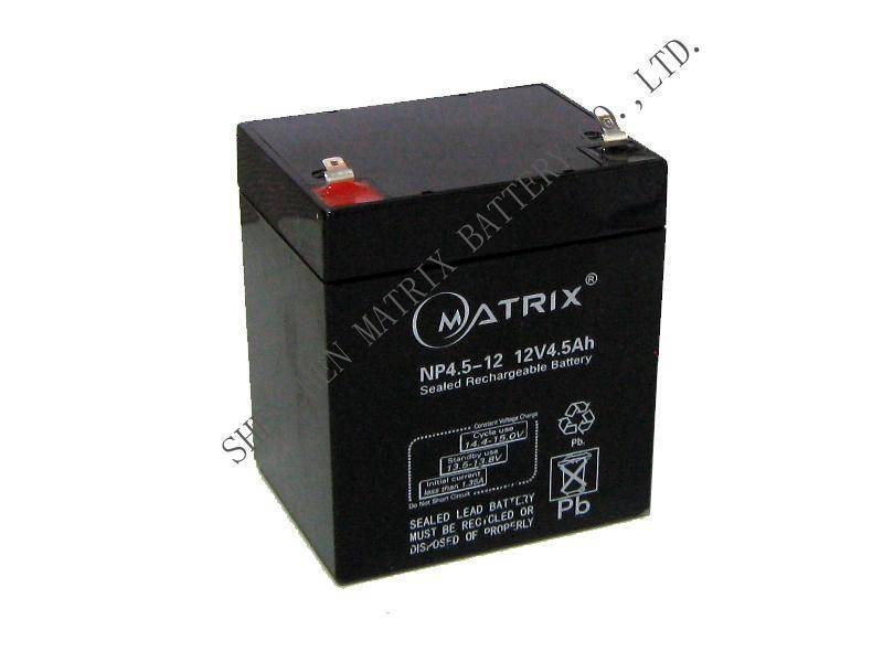 Sealed rechargeable lead-acid battery  12V4.5AH SLA Battery