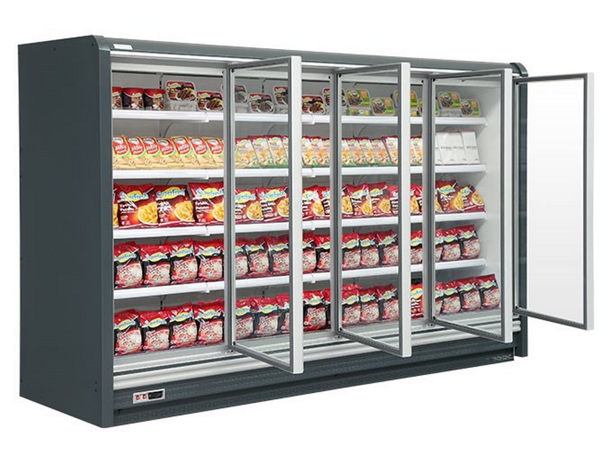 multideck cabinet with vertical glass door -18