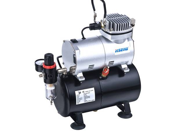 Haosheng single cylinder piston compressor with air tank AS186