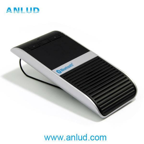 2014 ALD68 Real TTS voice dailing solar charging bluetooth speaker car kit