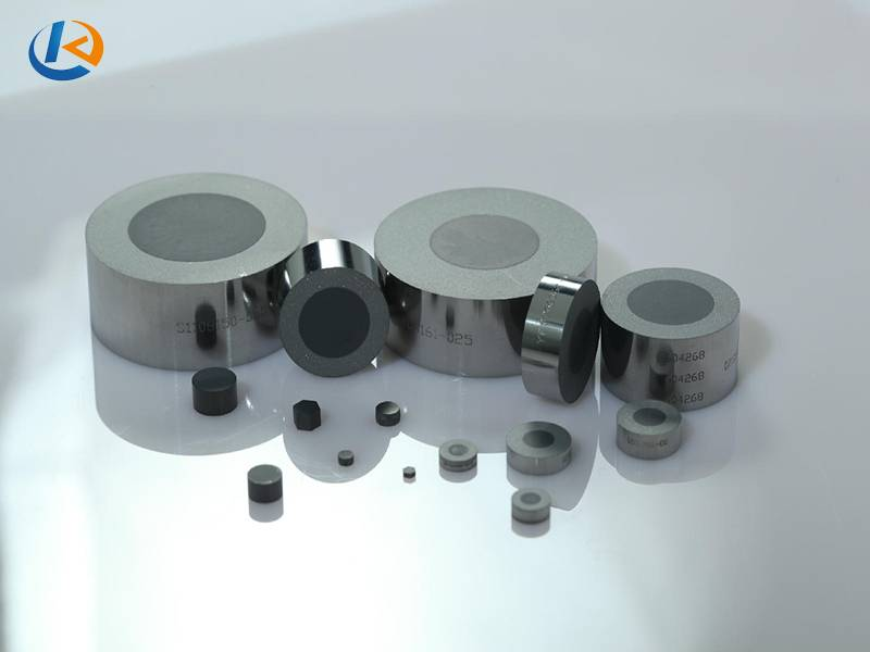 Polycrystalline diamond wire drawing die blank (PCD)