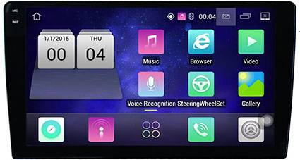 9 Inch Android Capacitive Screen Universal Car GPS Navigation