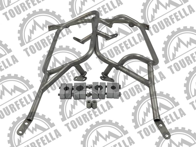 Tourfella Stainless Pannier Rack for BMW R1200GS Water  cooled