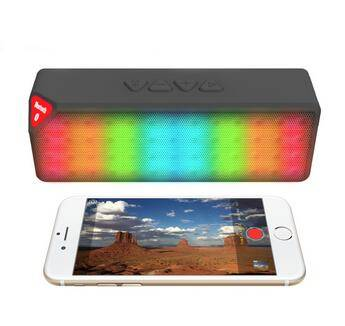 Outdoor cool wireless led light bluetooth speaker ,led light speaker, mini speaker