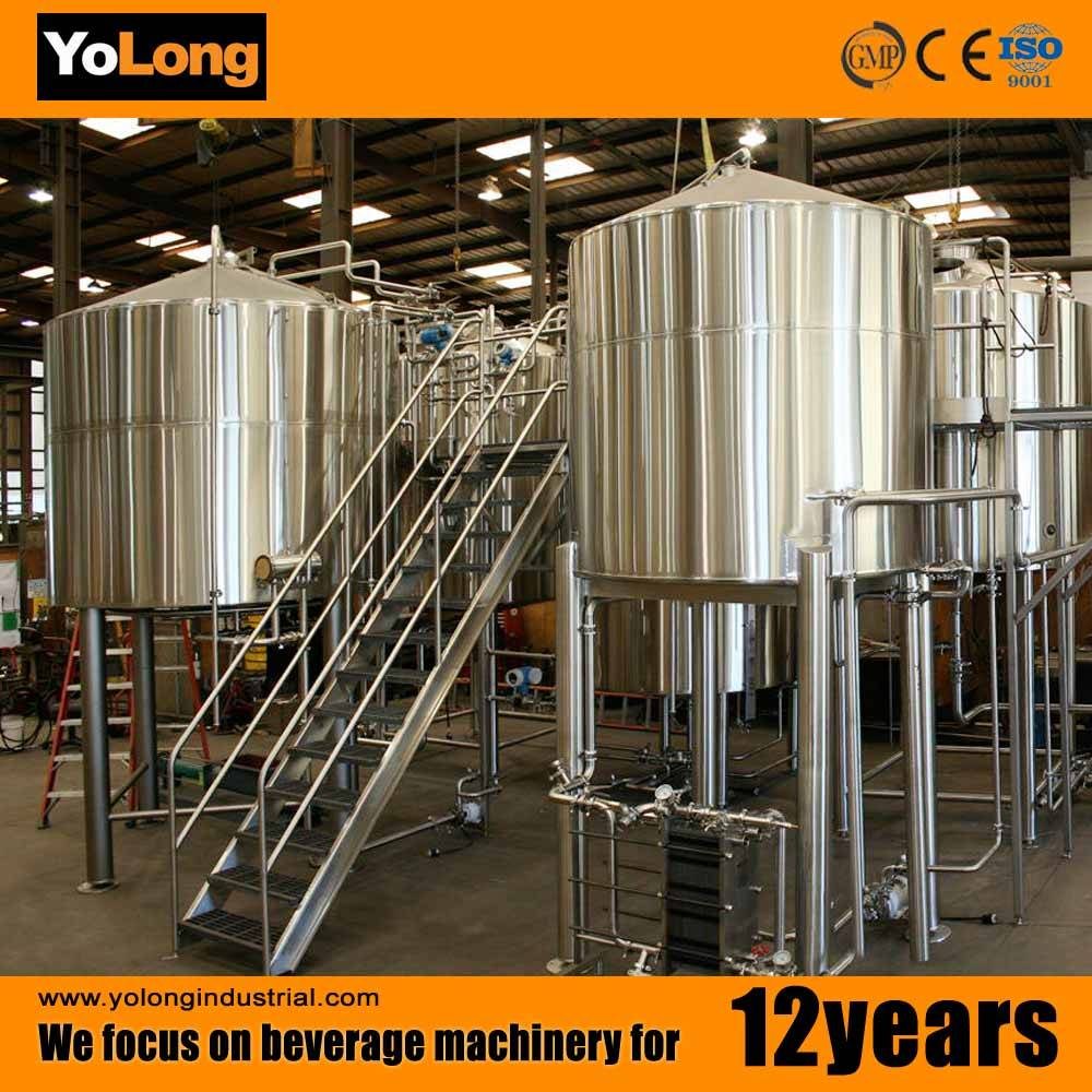 Commercial 1000L beer brewery equipment with different containers
