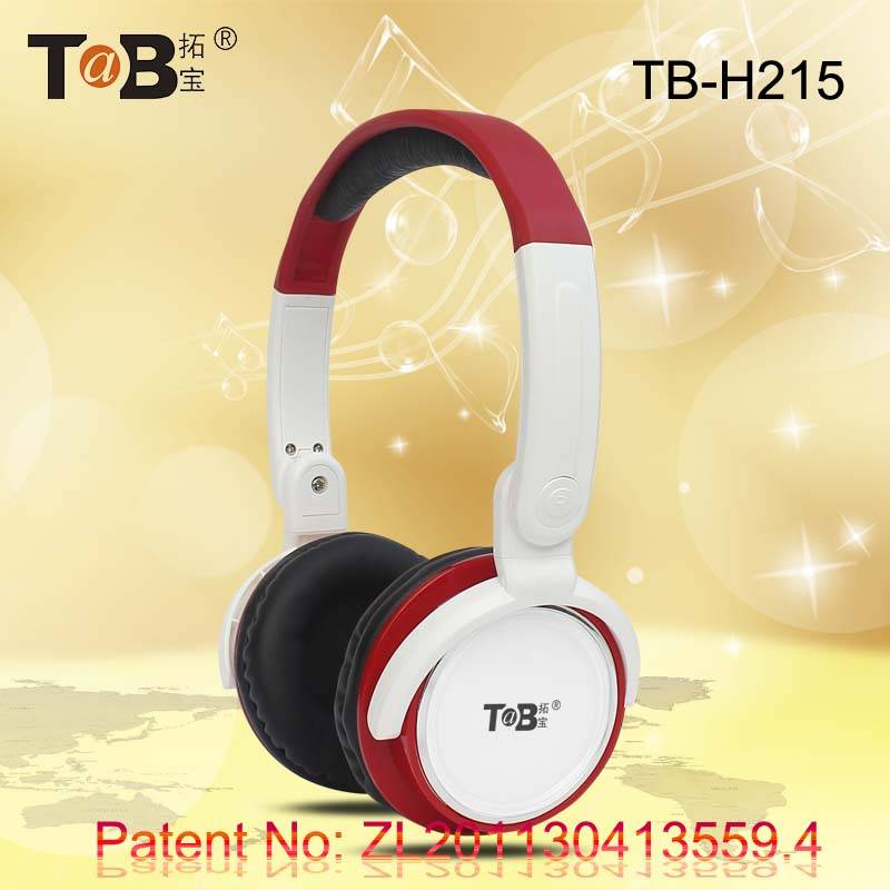 High Performance Wired foldable deep supper bass headphone headset