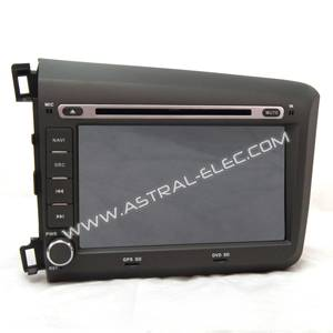 HONDA Civic(left) 2012 Android GPS BT TV Radio RDS DVD Media Player Wifi 3G Audio Receiver SWC(Canbu