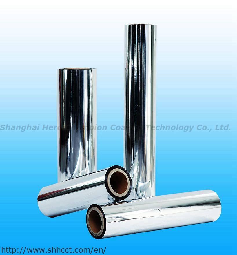 High Metal Bond Strength Flexible packaging Metallized OPP Film VM-BOPP Film