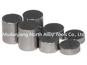 Tungsten alloy cylinder weight for pinewood derby car