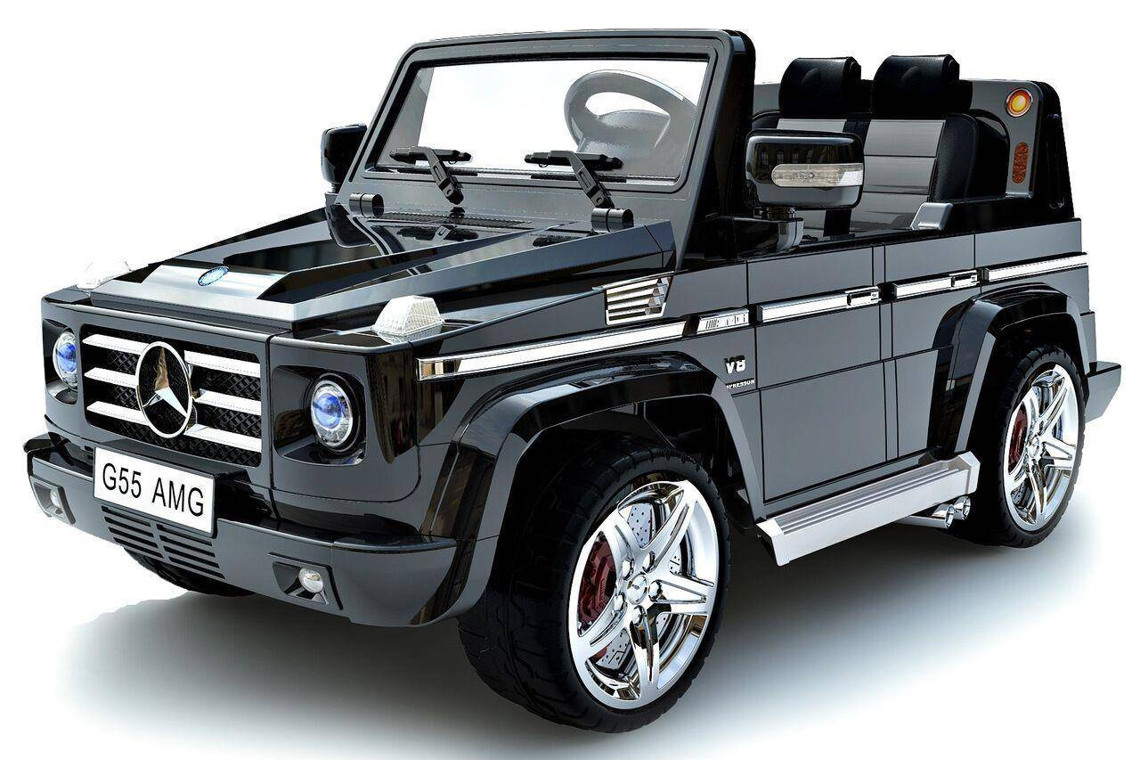 Ride On Car Toy Licensed 12V Mercedes Benz G55 for Kid Powered Wheels RC