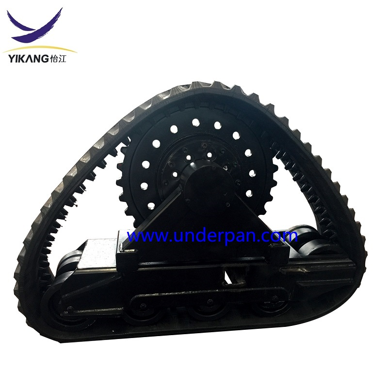 3 tons rubber track undercarriage for triangle farm tractor