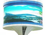flexible led display outdoor P6 led screen for advertising