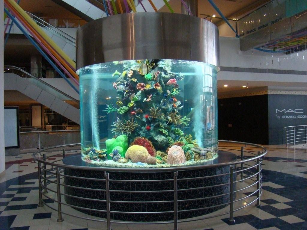 Acrylic Cylinder Aquarium Suzhou Xingcheng Aquarium