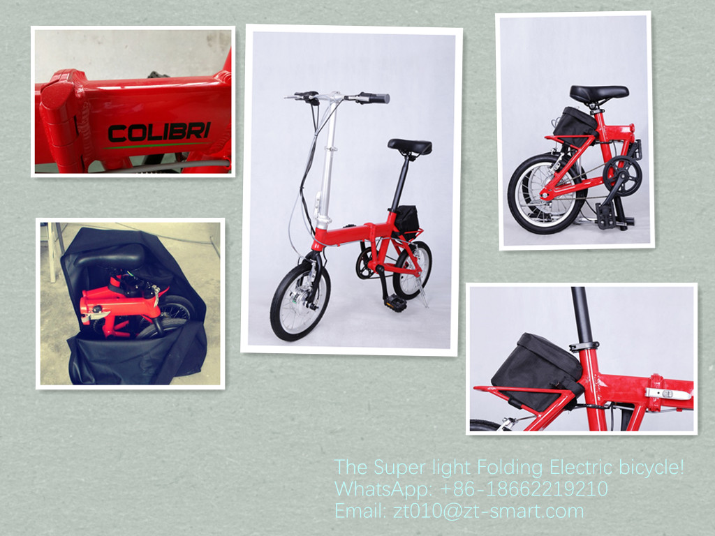 Customized electric folding ebikes electric bike