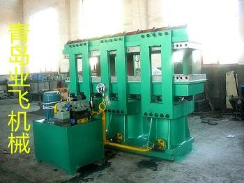 Vulcanization machine with side plate