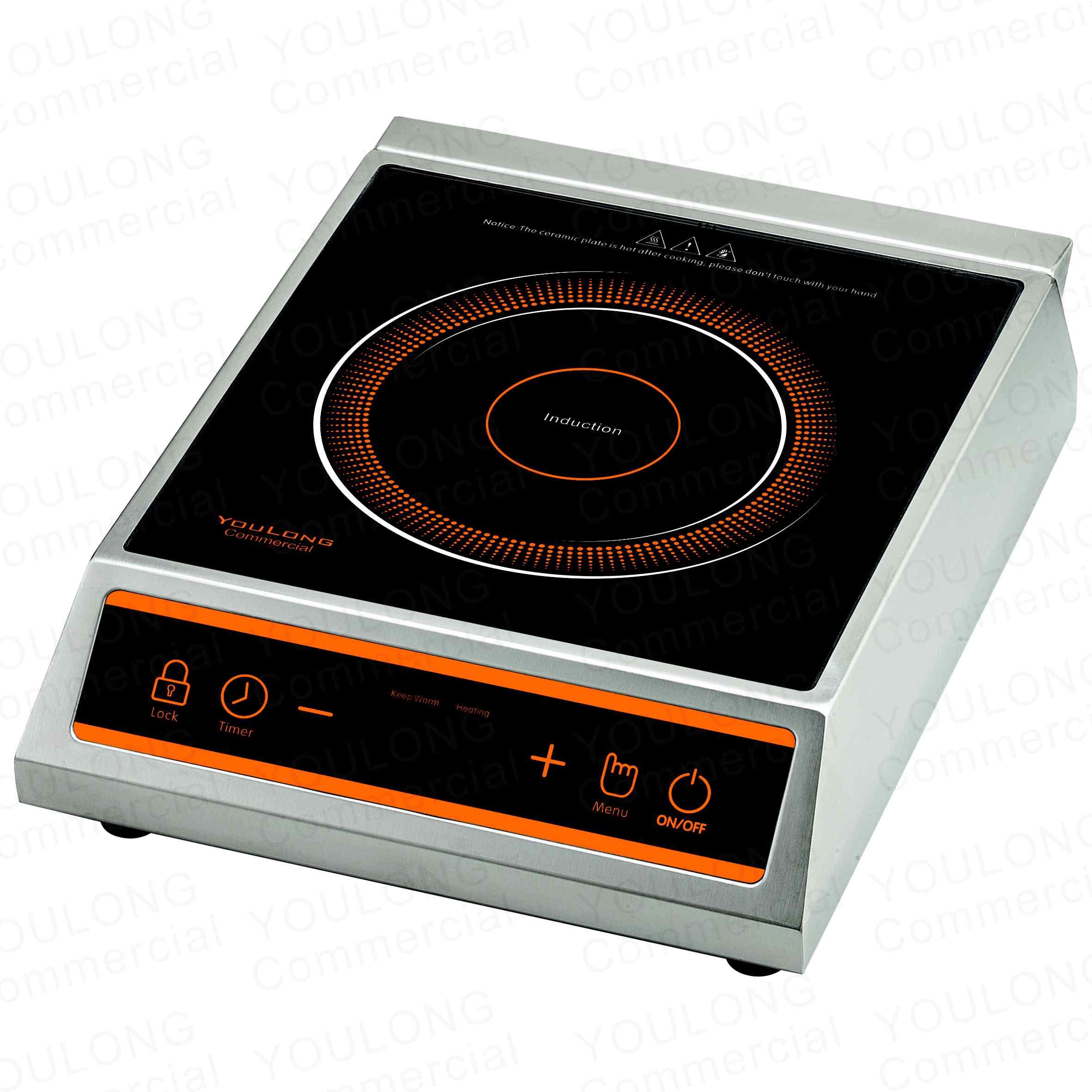 indnuction cooker(1 burner)C2602-B Press Control