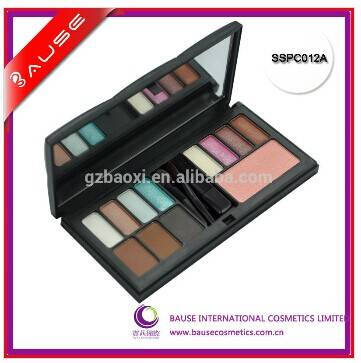 NEW!!12 glitter color makeup your own brand eyeshadow palette
