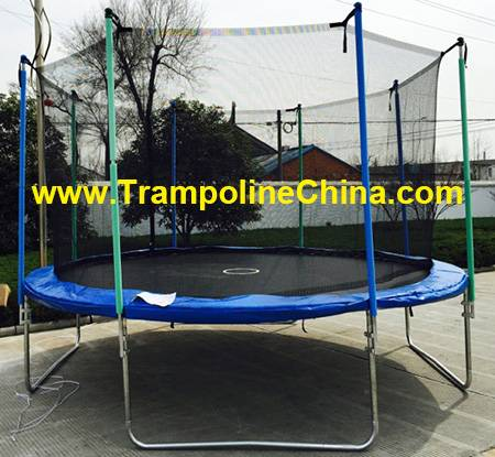 16ft trampoline with enclosure