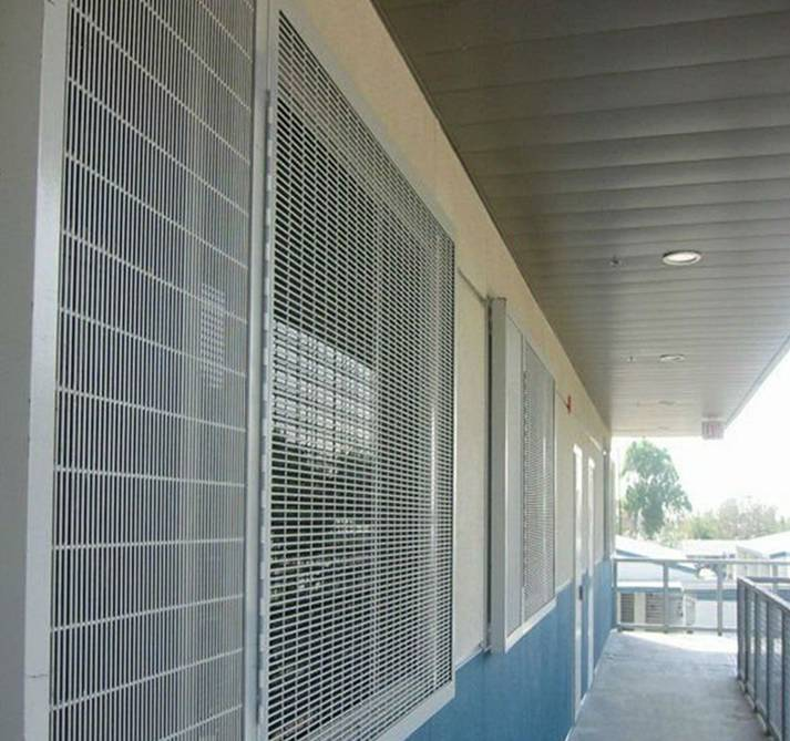 Powder coated 358 anti climb fence (High quality and high security)