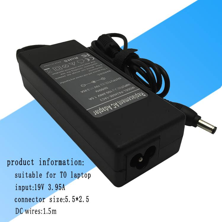 Laptop power adapter for Toshiba