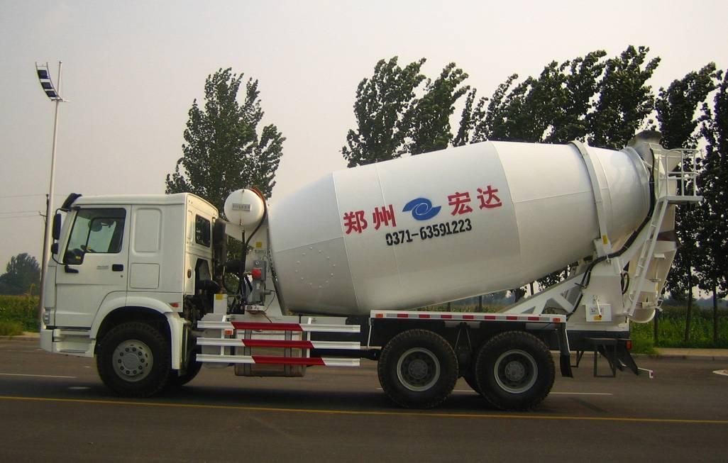 6X4 concrete mixer truck