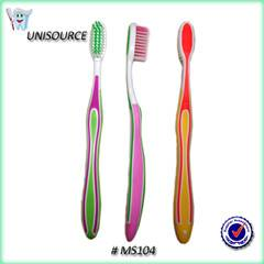 Toothbrush with regular imprinting