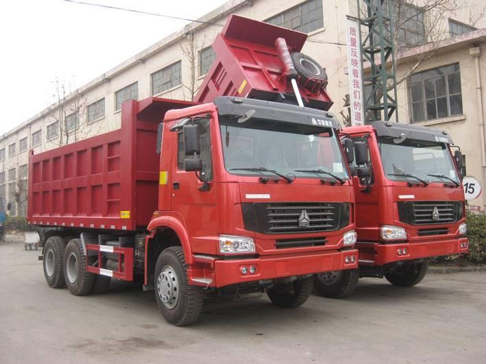 SINOTRUK HOWO Chassis 6X4 Dump Truck (25T)
