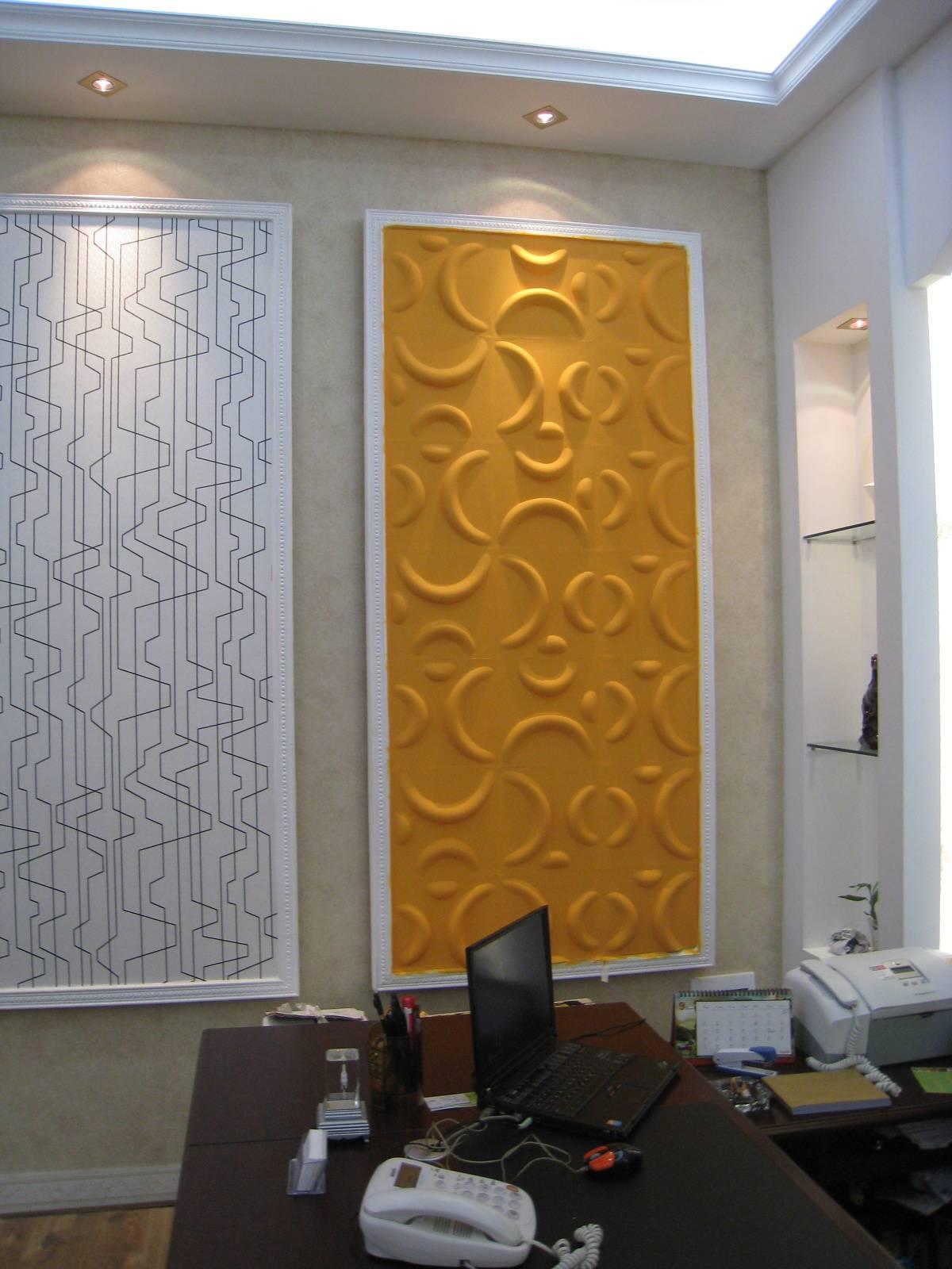 fshion design 3D wall panel