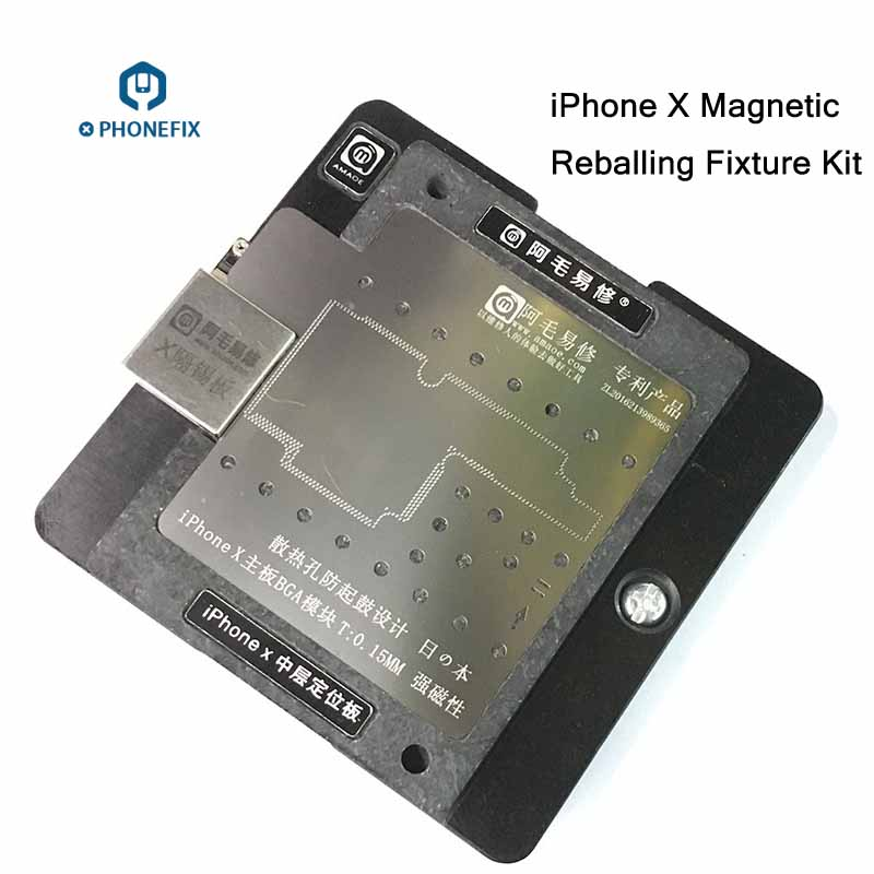 IPhone X Motherboard Positioning Fixture BGA Repair Reballing Platform