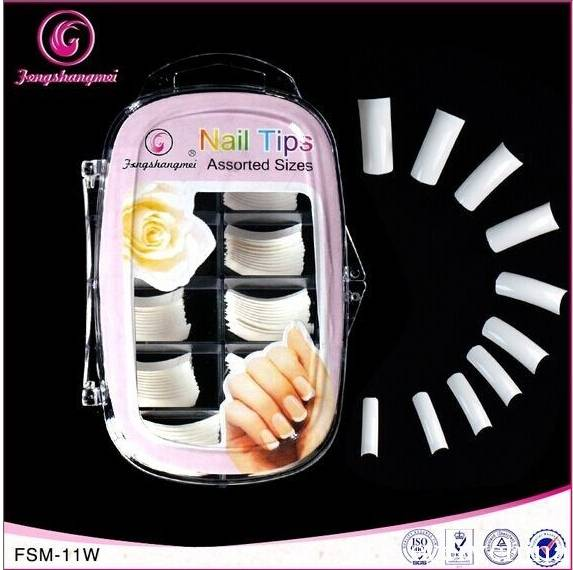 100 pcs salon nail tips