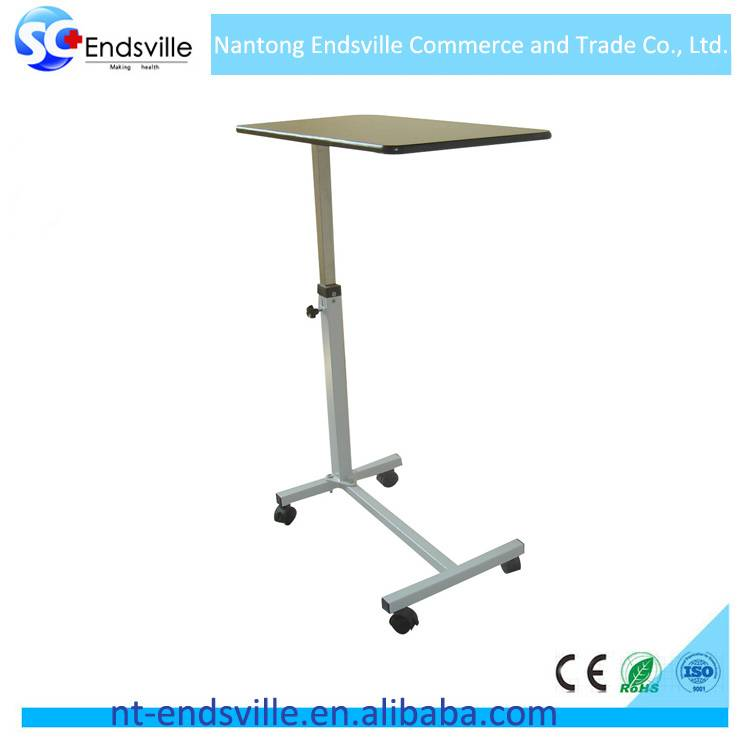 Hospital furniture over bed table