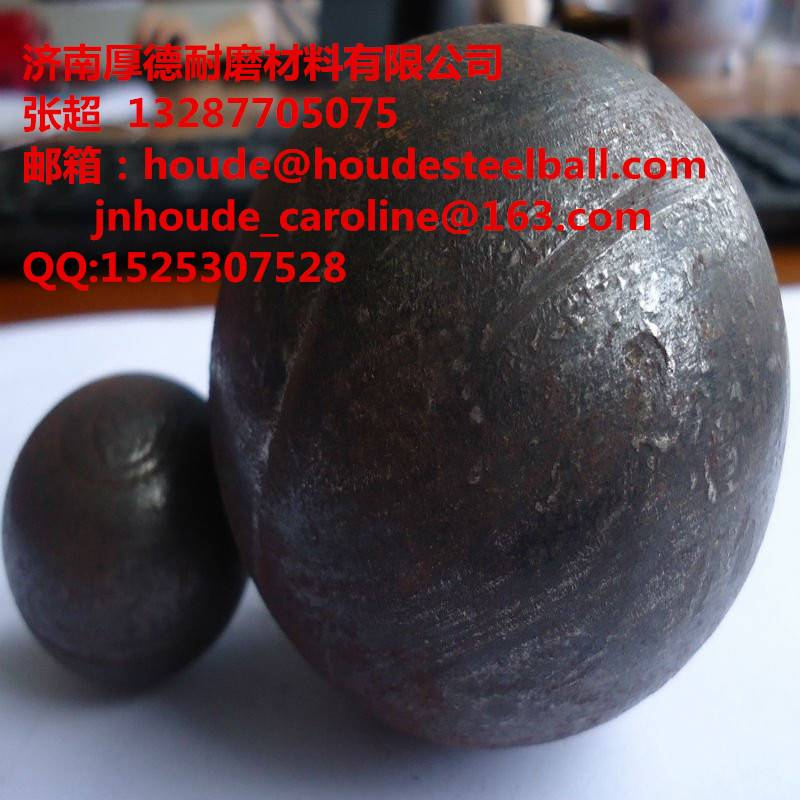 50mm forged steel grinding ball for ball mill