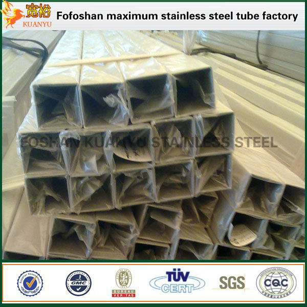 Stainless Steel Square Standard Sizes