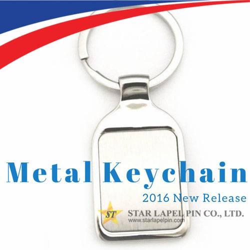 Best Custom Promotional Zinc Alloy Blank Key Chains