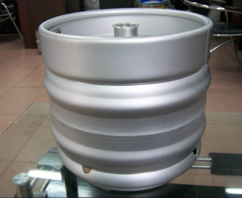 used beer keg