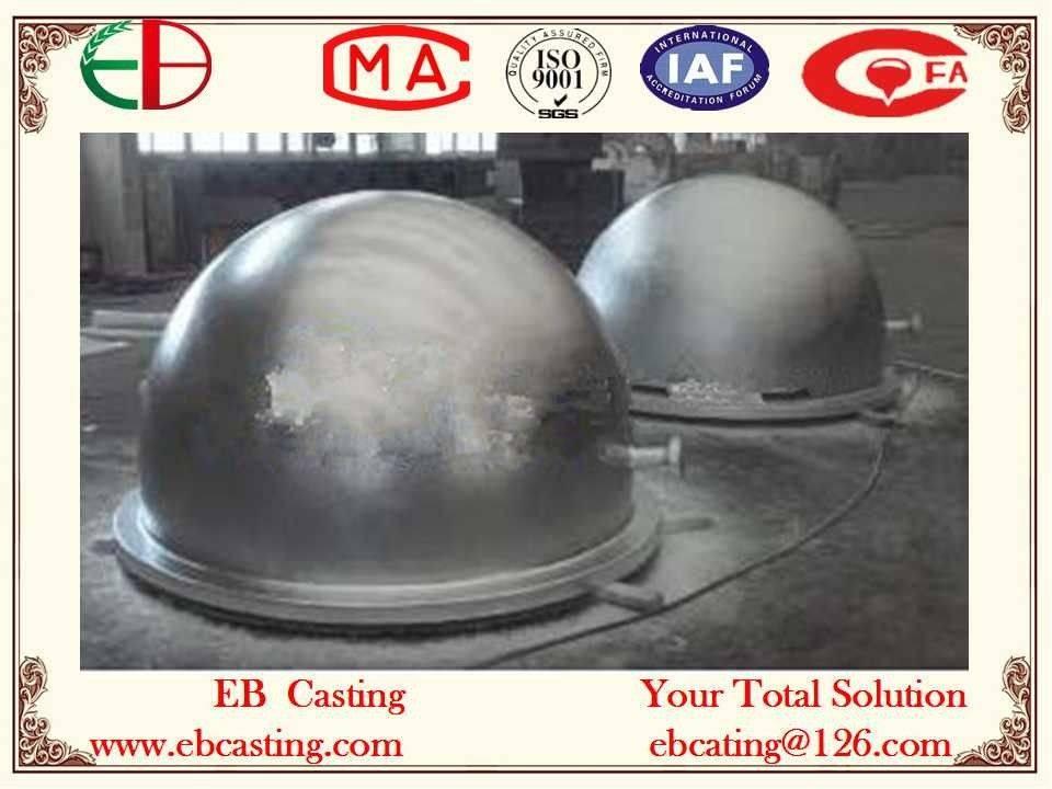 Melting Pot Crucible Castings 2.5 tons Per Unit EB4055