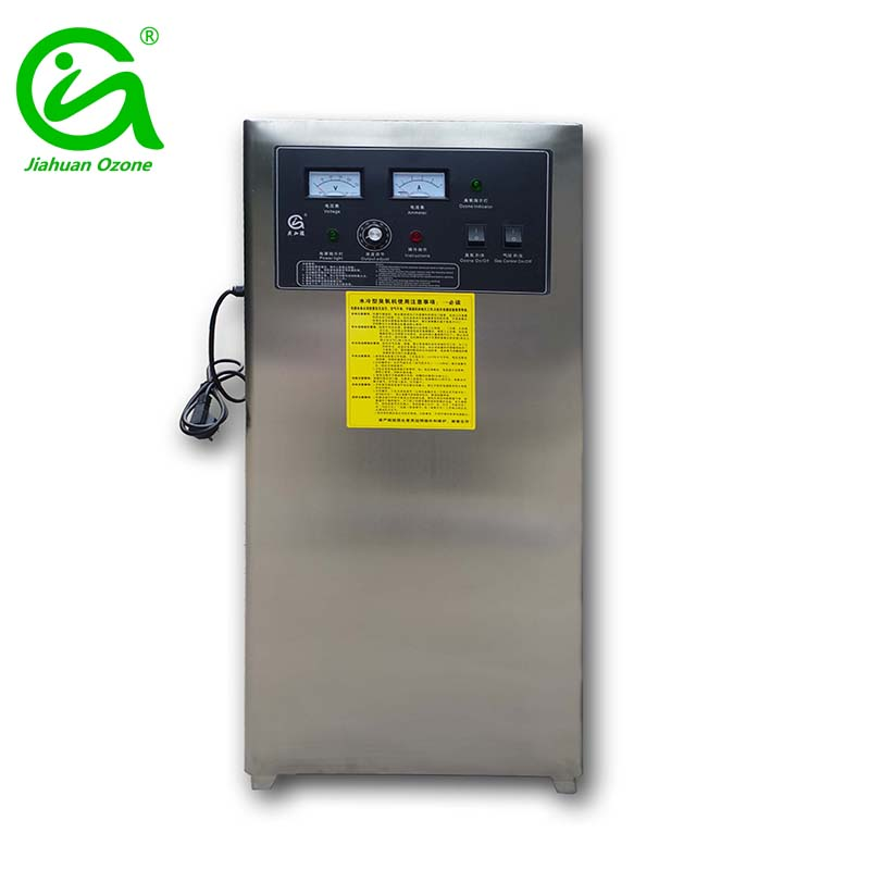25g/h Water Cooling Ozonator for Wig Factory Sterilization