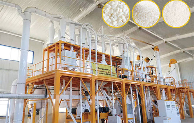 Maize Flour Milling Machine with Hammer Crusher