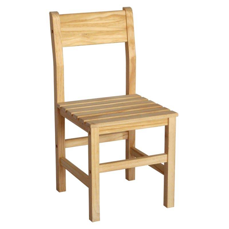 Wooden Dining Natural Chairs - Solid Unfinished Pine