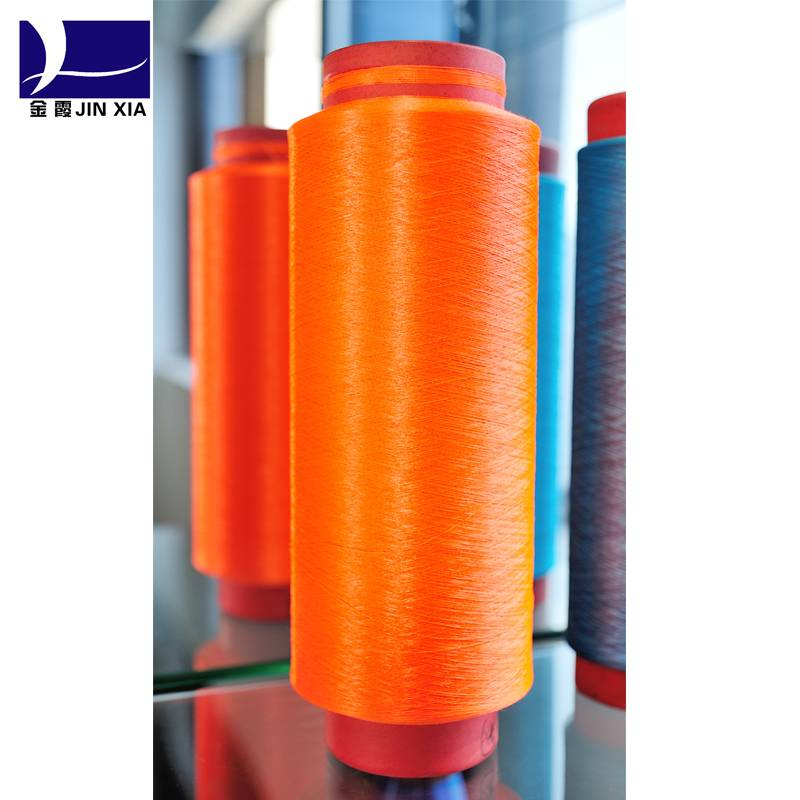 DTY polyester colored yarn 150D-300D