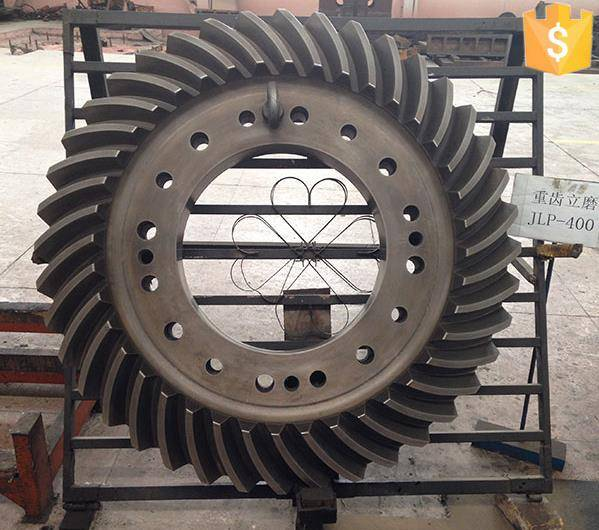 Customized steel casting spiral bevel gear 20XH3A