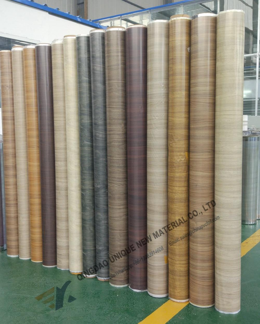2018 Popular Wood Texture Design Hot Samping Foil For 4x8ft WPC Furniture Board
