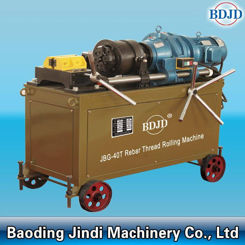 construction steel rebar screw making machine rebar thread rolling machine price