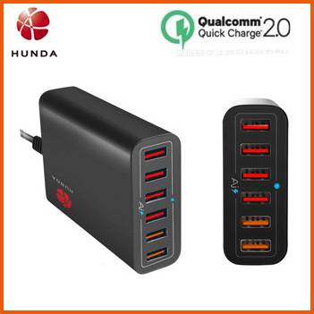 Manufacturer Quick 2.0 USB AC Adapter 60w Multi Phone Charger